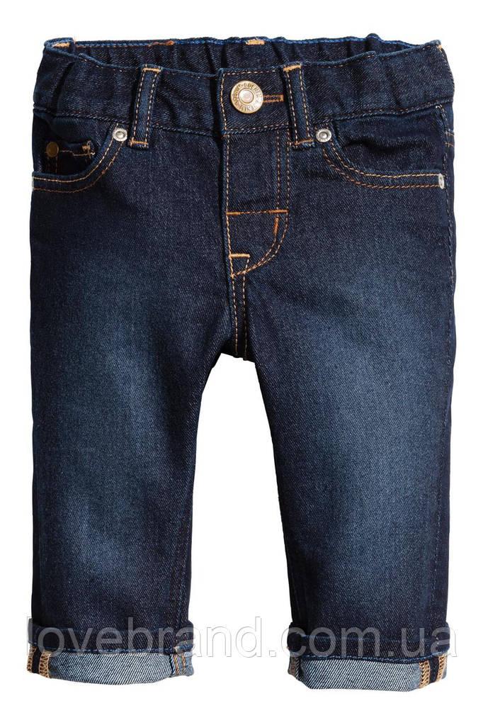 Джинсы H&M для мальчика 4-6 мес/68 см