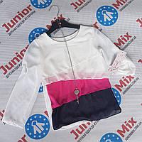 Детские цветные шифоновые кофточки для девочек оптом Kids moda, фото 1
