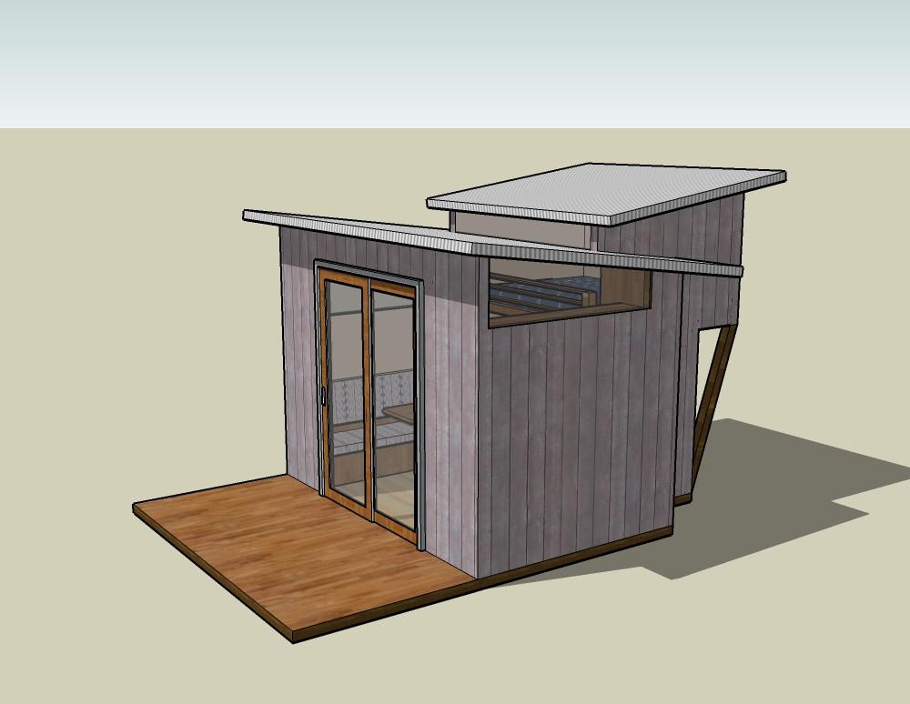 Проектирование маленьких садовых домиков