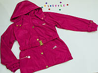 Куртка-парка демисезон  на девочку (рост 152-158 см)