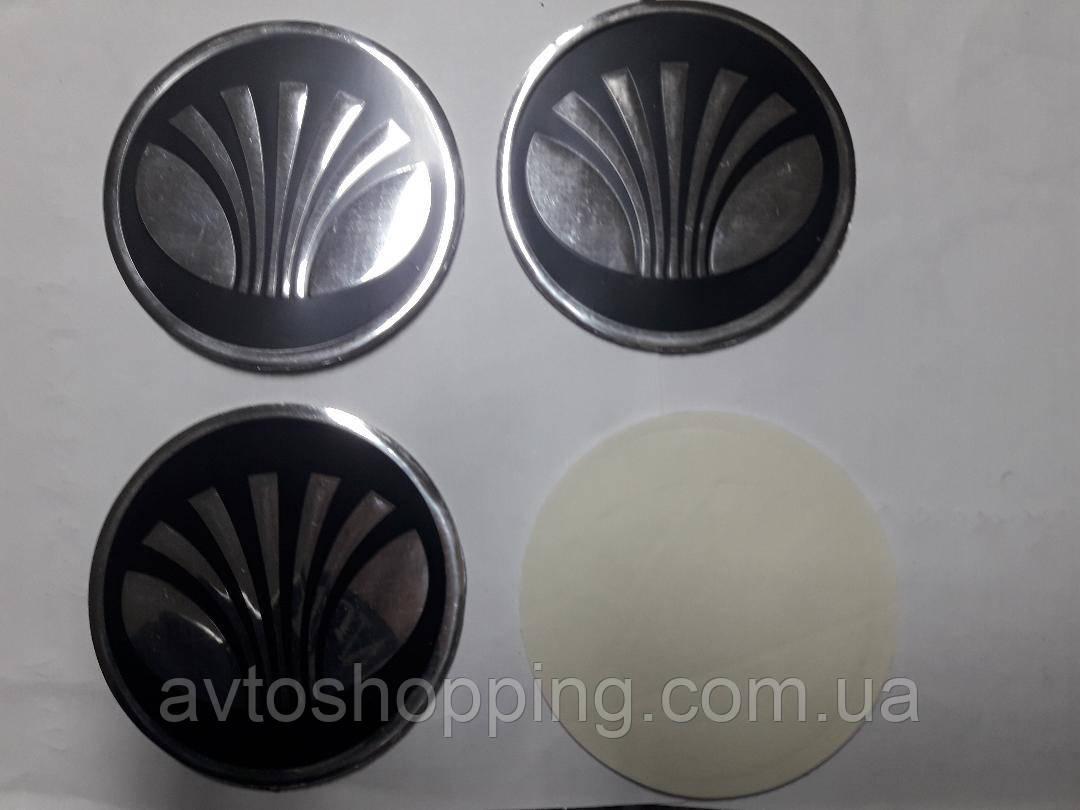 Наклейки на ковпачки, заглушки, наклейки на диски 90 мм Daewoo Део