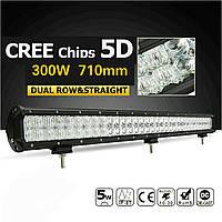 Led Bar Прожектор евро 300W / 60 led / 710 мм