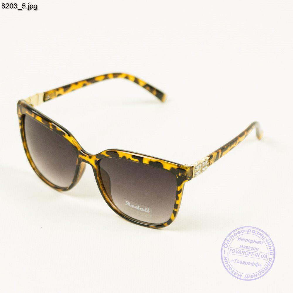 Очки солнцезащитные женские леопардовые - 8203/1