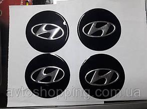 Наклейки на колпачки, заглушки, наклейки на диски 90 мм Hyundai Хендай