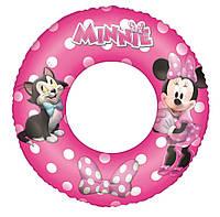 Надувной круг для плавания минни маус Bestway 91040: размер 56см
