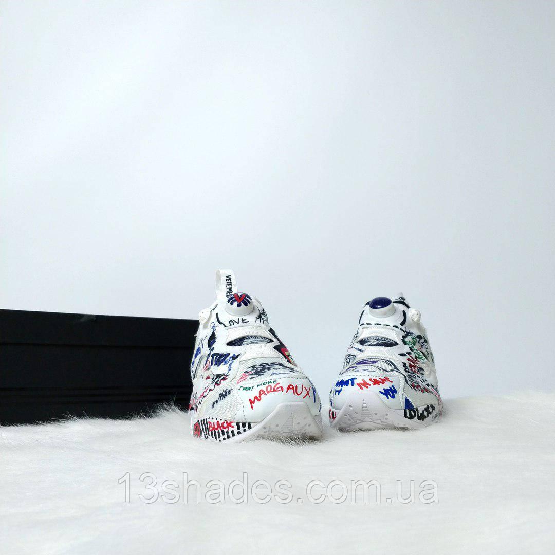... Женские кроссовки Reebok Insta Pump Vetements (Рибок Инста Памп)  разноцветные, ... 9ebb2b8f14c