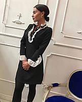 Платье женское Velenara , креп-костюмка+шифон !, фото 1