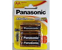 Батарейки Panasonic Alkaline LR6 АА ORIGINALsize аккумуляторные элементы питания аа ааа