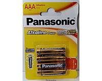 Батарейки Panasonic Alkaline LR03 ААА ORIGINALsize аккумуляторные элементы питания аа ааа