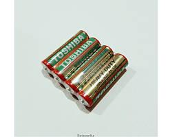 Батарейки Toshiba AA R6 ORIGINALsize аккумуляторные элементы питания аа ааа