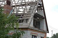 Демонтаж зданий, крыш, строений, домов, хат в Харькове и области