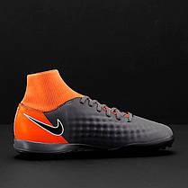 Детские Сороконожки Nike Magista Obra 2 Academy DF TF Junior AH7318-080 (Оригинал), фото 3