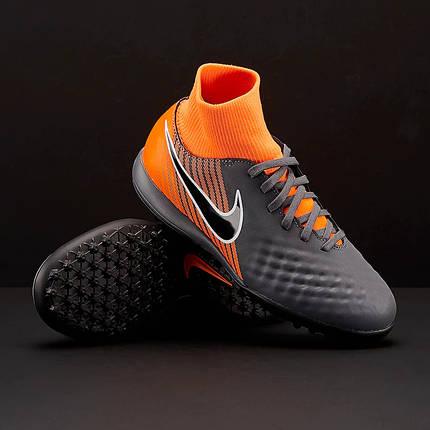 Детские Сороконожки Nike Magista Obra 2 Academy DF TF Junior AH7318-080 (Оригинал), фото 2