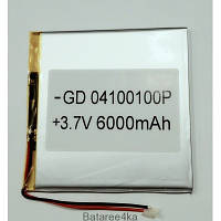 Аккумулятор LI-POL 04100100 3.7V 6000MAH Originalsize батареи элементы питания