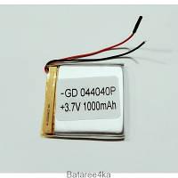 Аккумулятор LI-POL 044040 3.7V 1000MAH Originalsize батареи элементы питания