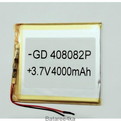 Аккумулятор LI-POL 408082 3.7V 4000MAH Originalsize батареи элементы питания