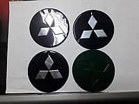 Наклейки на колпачки, заглушки, наклейки на диски 90 мм Mitsubishi