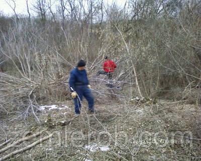 Уборка территории, до или после строительства в Харькове и области