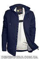 Куртка чоловіча демісезонна ZPJV ZC-290 темно-синя, фото 1