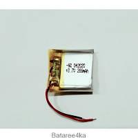 Аккумулятор для Плеера (LI-POL) 042020 3.7V 200MAH Originalsize для Аккумуляторных батарей