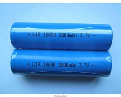 АККУМУЛЯТОР 18650 LI-ION 2800MAH ORIGINALsize аккумуляторные батареи элементы питания