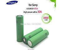 Аккумулятор 18650 Li-Ion Sony US18650VTC6 3000mAh 30A ORIGINALsize аккумуляторные батареи элементы питания