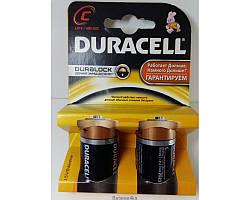 Батарейки Duracell LR14 ORIGINALsize аккумуляторные элементы питания аа ааа