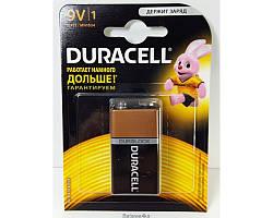 Батарейки Duracell 9V крона ORIGINALsize аккумуляторные элементы питания аа ааа
