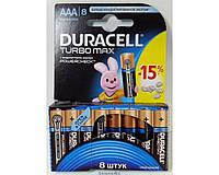 Батарейки Duracell Turbo AAA ORIGINALsize аккумуляторные элементы питания аа ааа