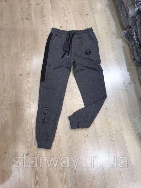 Стильные штаны Philipp Plein лого топ | Оригинальная бирка