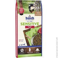Корм Для Собак Bosch Tiernahrung Sensitive. Lamb & Rice 15кг
