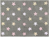 Lorena Canals - Ковер Tricolor Stars Grey - Pink, фото 1
