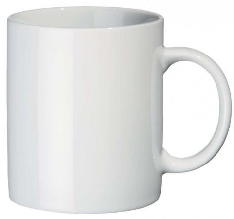 Чашка керамическая для сублимации белая White Mug 330 мл. КЛАСС-А