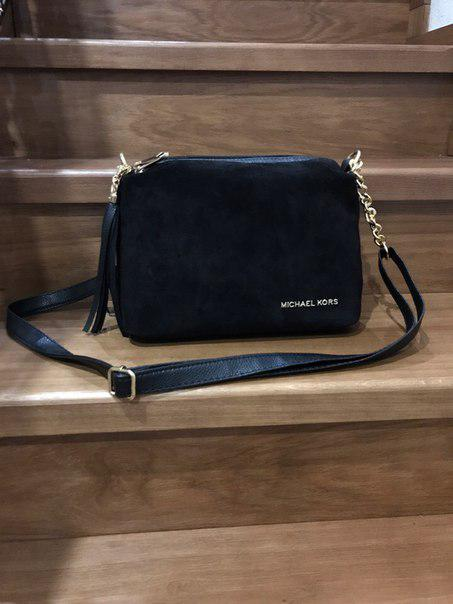 4c086156c129 Черная замшевая удобная сумка клатч - Интернет-магазин