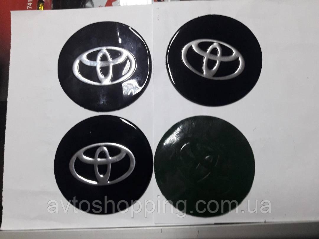 Наклейки на колпачки, заглушки, наклейки на диски 90 мм Toyota