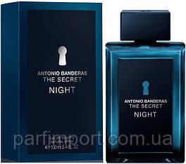 Antonio Banderas Secret NIGHT EDT 100 ml  туалетная вода мужская (оригинал подлинник  Испания)