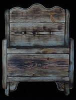Деревянная ключница  настенная., фото 1