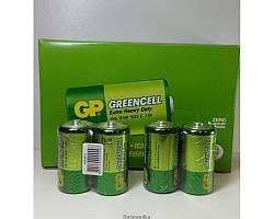Батарейка GP R14 Greencell С ORIGINALsize аккумуляторные элементы питания аа ааа