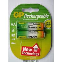 Аккумуляторы GP AA 1300 mAh ORIGINALsize аккумуляторные элементы питания аа ааа