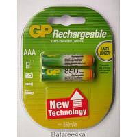 Аккумуляторы GP AAА 850 mAh ORIGINALsize аккумуляторные элементы питания аа ааа