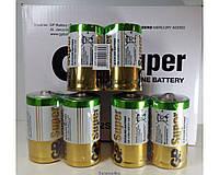 Батарейки GP Super LR20 ORIGINALsize аккумуляторные элементы питания аа ааа