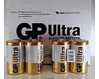 Батарейки GP Ultra D LR20 ORIGINALsize аккумуляторные элементы питания аа ааа