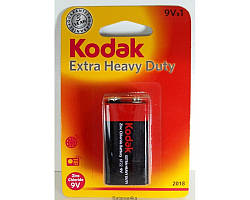 Батарейка Kodak LongLife 9V крона ORIGINALsize аккумуляторные элементы питания аа ааа