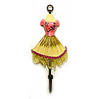 """Вешалка-ключница для одежды """"Манекен"""" розовый"""