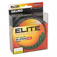 Леска плетёная Salmo ELITE BRAID Yellow 0.13