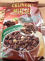 "Кранчи ""Classic"" с шоколадом и орехами, 750 грамм, Чехия"