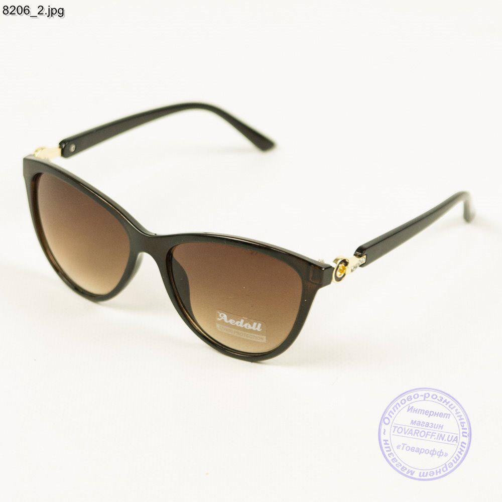 Женские солнцезащитные очки Aedoll - Коричневые - 8206
