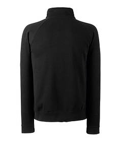 Мужской классический свитер с воротником на замке S, 36 Черный