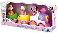 Развивающая игрушка для малышей ТМ Сlementoni Поезд Минни 14940