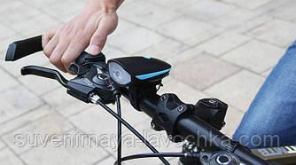 Велофара с звуковым сигналом